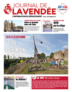 Journal de la Vendée n°257 Septembre 2019