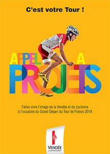 Visuel brochure Appel a projets Tour de France 2018