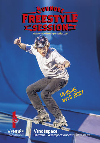 Affiche Vendée Freestyle Session 2017©Christian Van Hanja