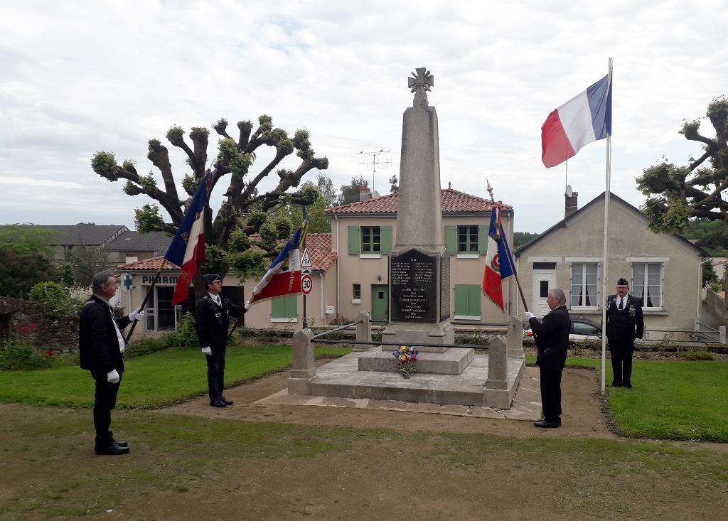 Même confinée, la Vendée rend hommage aux morts pour la France