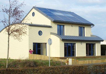 une maison solaire exemplaire en vend e cd 85. Black Bedroom Furniture Sets. Home Design Ideas